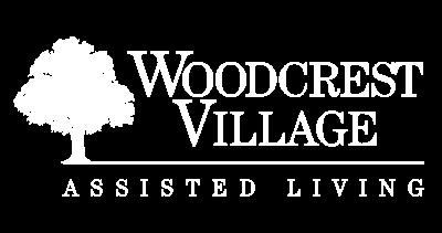 Woodcrest Village - Logo | White